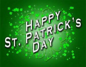 Happy St. Patricks Day from B. Chaney Improvements