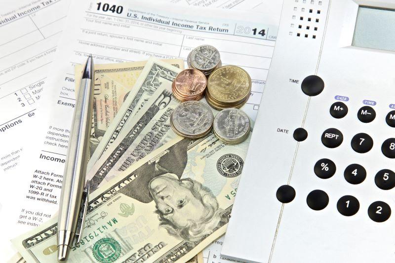 Tax return money for home improvement work
